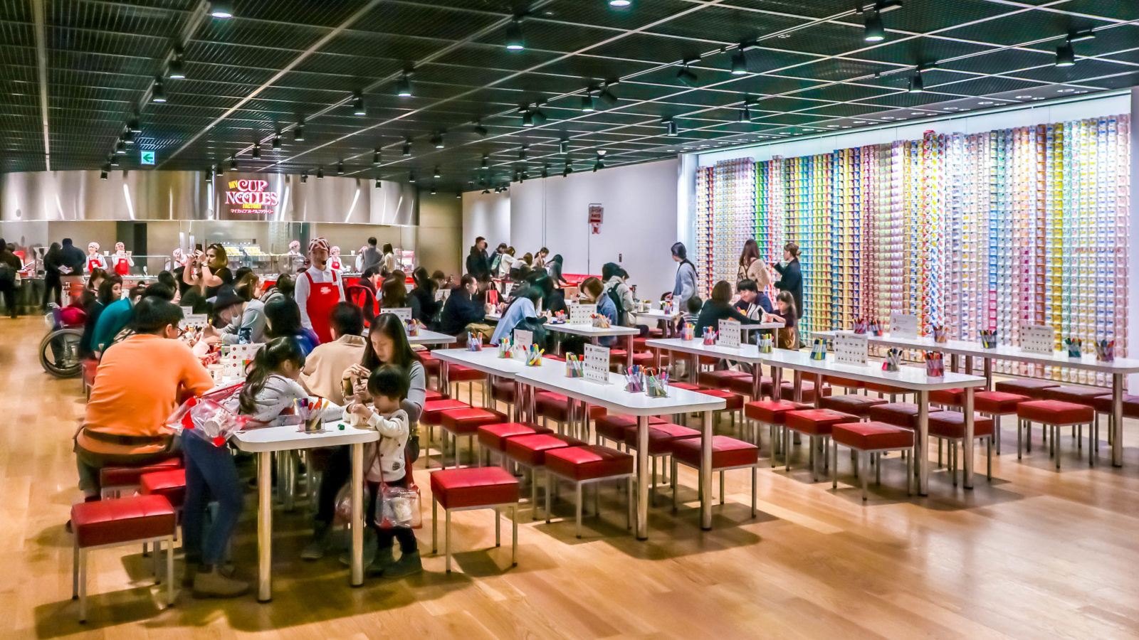 Cup Noodle Musuem Osaka Japan   Alexis Jetsets   Creating your own